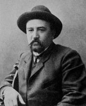 Александр Иванович Куприн. Фото 1912 года. Автор А.Ф.Маркс