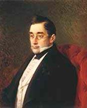 Александр Сергеевич Грибоедов. Портрет 1873 года. Автор И.Н. Крамской