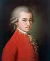 Вольфганг Амадей Моцарт. Портрет 1819 года. Художник Барбара Крафт.