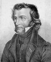 Никколо Паганини. 1828 год. Литография фон Рудольф Вебер.