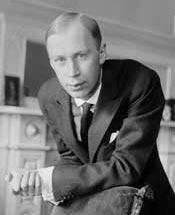 Сергей Сергеевич Прокофьев. Фото 1918 года