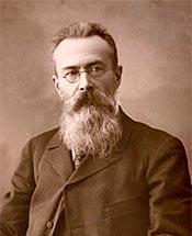 Николай Андреевич Римский-Корсаков. Фото. 1897 год.