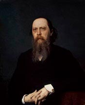 Михаил Евграфович Салтыков-Щедрин. Картина 1879 года. Автор Иван Николаевич Крамской.